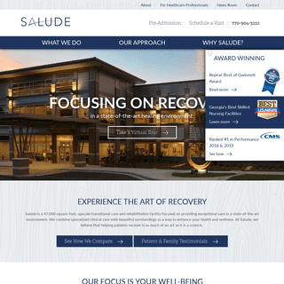Salude - Transitional Care & Physical Recovery in Atlanta