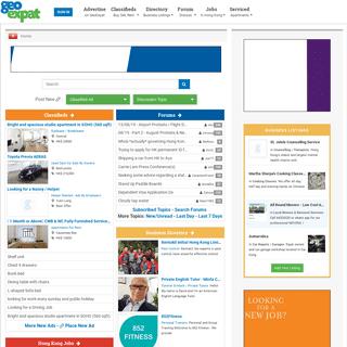 Hong Kong Expats - Forums, Classifieds, Resources for The Expat in Hong Kong -- Hong Kong GeoExpat