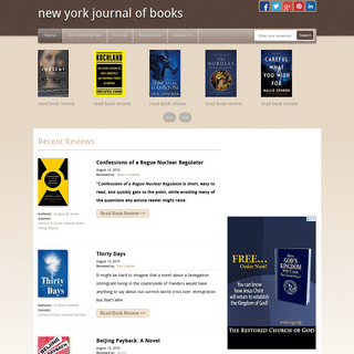 new york journal of books - Book Review
