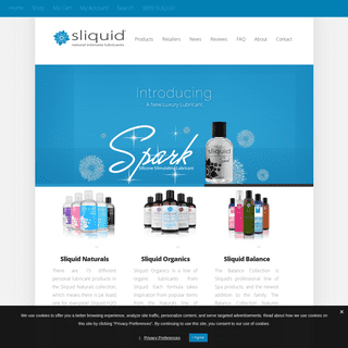 Sliquid Natural Intimate Lubricants for Women - Simple. Safe. Sexy.