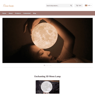 7 size Moon Lamp to choose with videos [ Official Recommend 2019 ]