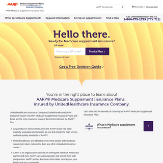 AARP® Medicare Supplemental Insurance by United Healthcare