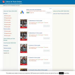 Libros de Texto Online - Libros Online para la Educación Básica