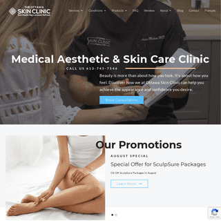Medical Aesthetic Clinic by Originis - Ottawa Skin Clinic