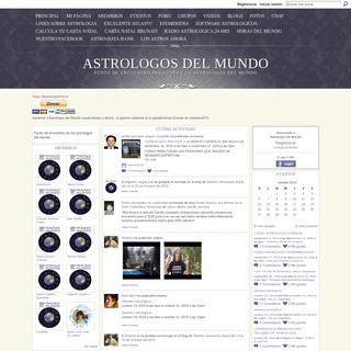 Astrologos del Mundo - Punto de encuentro para todos lo astrologos del mundo