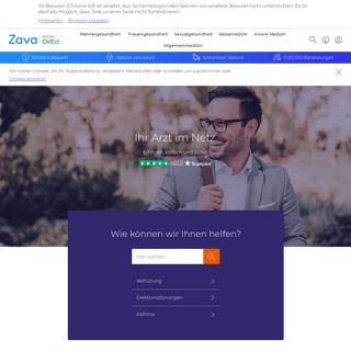 Zava Online-Arzt- Ihre Diagnose online – ohne Wartezeit - Zava - DrEd