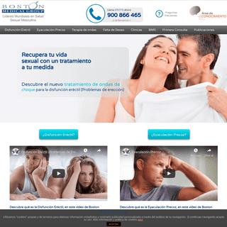 Salud Sexual Masculina - Boston Medical Group España