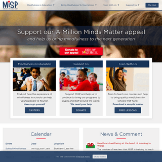 ArchiveBay.com - mindfulnessinschools.org - Mindfulness in Schools Project (MiSP) - Bringing Mindfulness to Schools