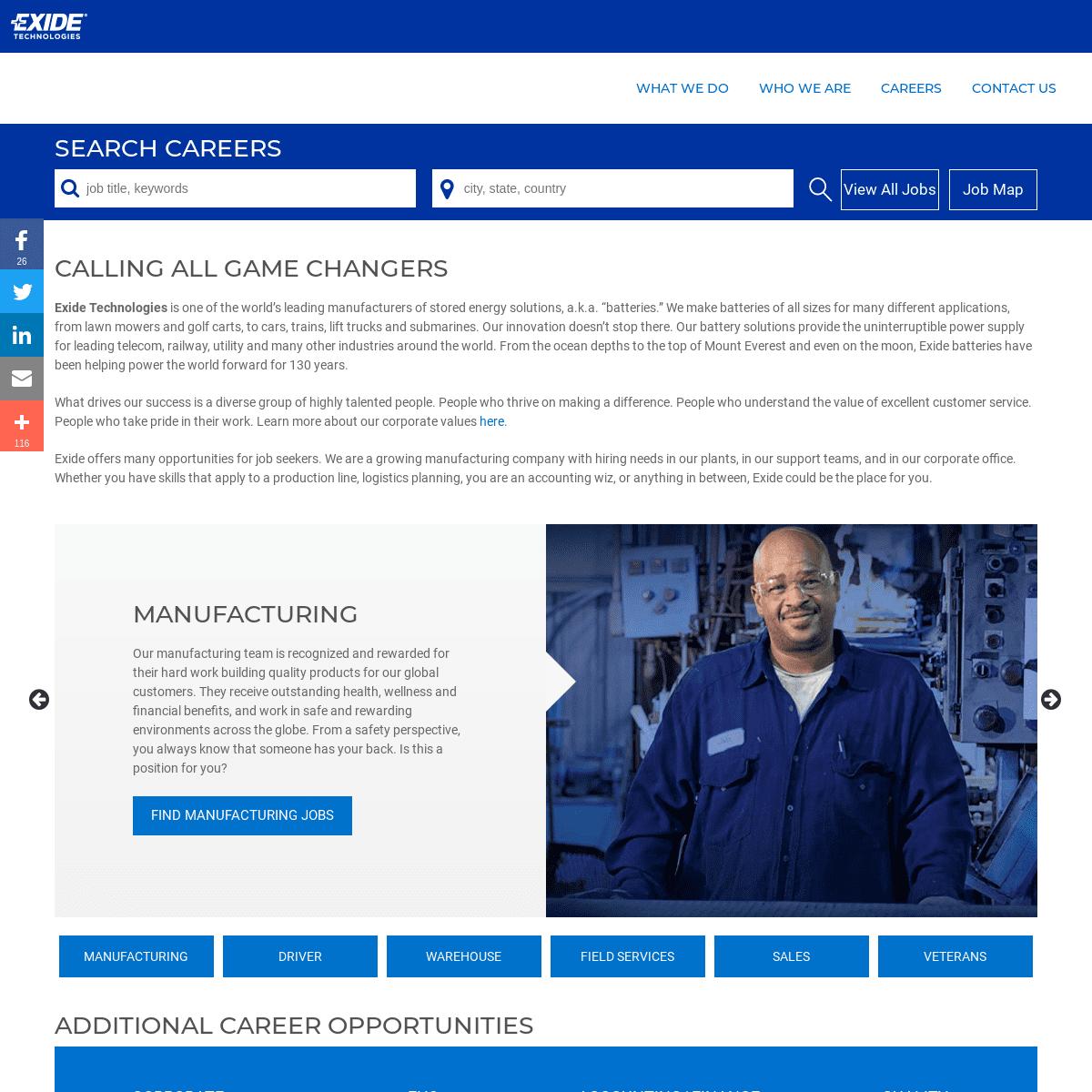 ArchiveBay.com - exide.jobs - Exide Jobs