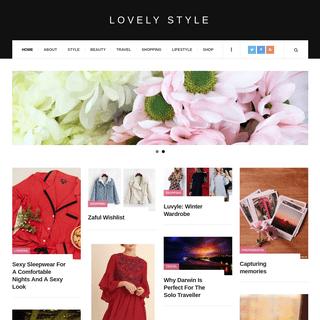 Lovely Style Blog