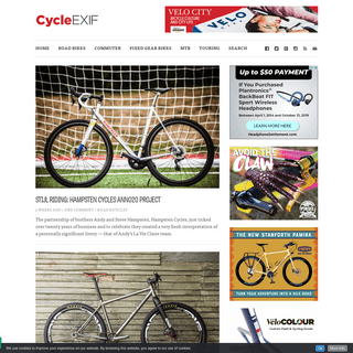 Cycle EXIF - Custom and classic bicycles