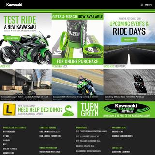 Kawasaki Australia - Motorcycles - Jet Skis - RUV - ATV's