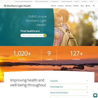 Northern Light Health - Home