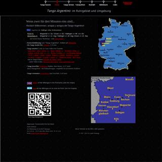 Tango Argentino im Ruhrgebiet und Umgebung - www.Tango-Ruhrgebiet.de