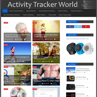 Activity Tracker World - Wearable Technology Reviews & Guides