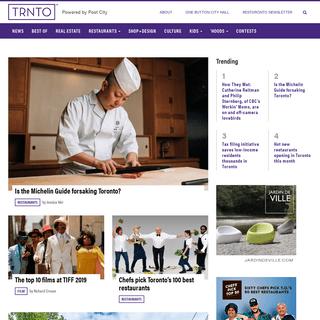 Main page - TRNTO.com - Powered by Post City