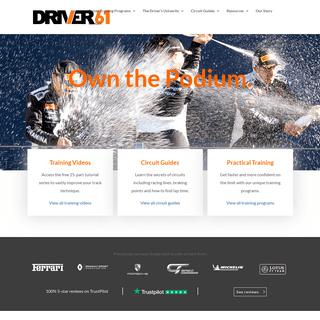 Driver 61 - The Motorsport Resource