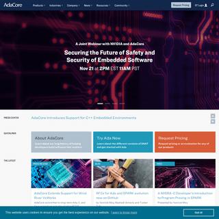 Homepage - AdaCore