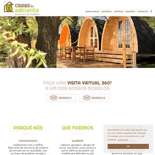 Casas do Ambiente - Casas do Ambiente