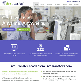 Live Transfer Leads