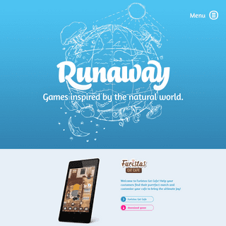 Mobile games inspired by the natural world - Runaway