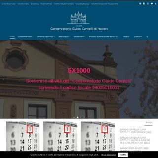 Conservatorio Cantelli – I.S.S.M. Conservatorio Guido Cantelli di Novara
