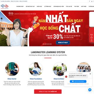 ArchiveBay.com - langmaster.edu.vn - Trung tâm tiếng Anh Langmaster - Tiếng Anh giao tiếp cho người mất gốc