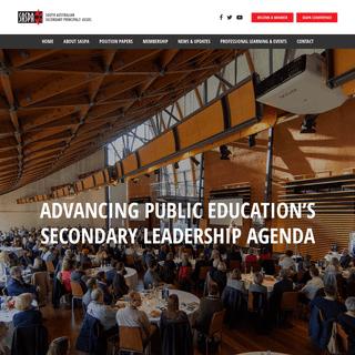 South Australian Secondary Principals' Association
