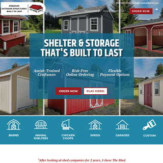 The Shed Yard - Storage Sheds, Chicken Coops, Garages