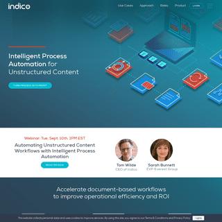 ArchiveBay.com - indico.io - Intelligent Process Automation for the Enterprise - Indico
