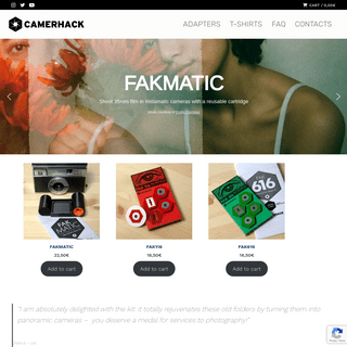 CamerHack film photography adapters – CAMERHACK STORE