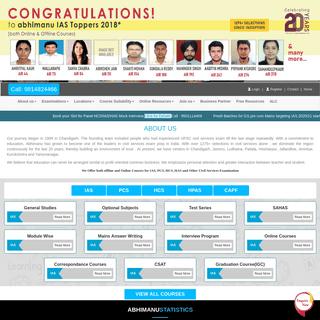 Best IAS Coaching in Chandigarh - Top IAS Institute - UPSC Exam Coaching