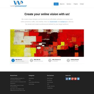 Web Design, WordPress Website, Mobile Optimised Sites