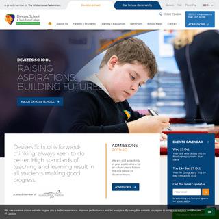 Devizes School - Home page