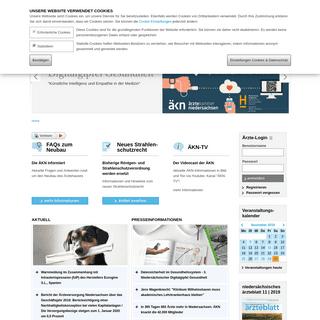 Home- Ärztekammer Niedersachsen » Ärztekammer Niedersachsen