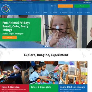 San Diego Children's Discovery Museum - Explore, Imagine, Experiment