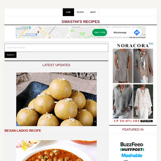 Swasthi's Recipes - Indian food blog with easy Indian recipes
