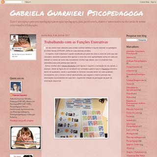 Gabriela Guarnieri Psicopedagoga