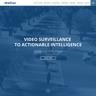 Transforming video into actionable intelligence - BriefCam