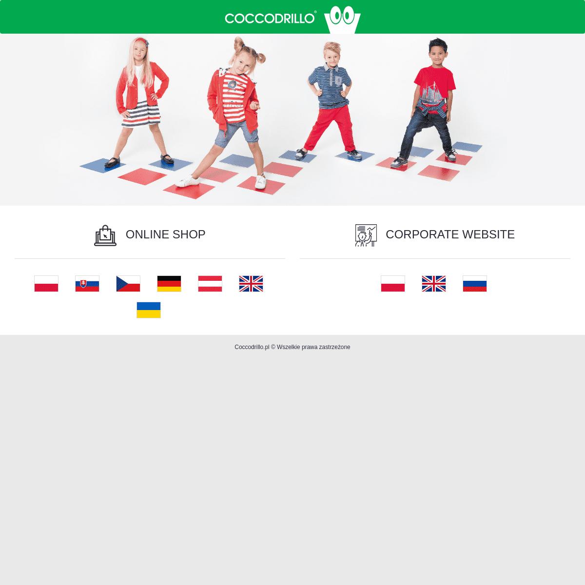 Online Shop - Coccodrillo