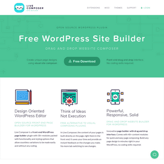 Page Builder for WordPress- 100- Free Plugin – LiveComposer