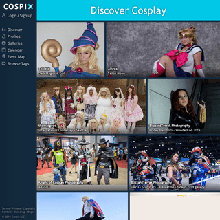 Discover Cosplay - Cospix