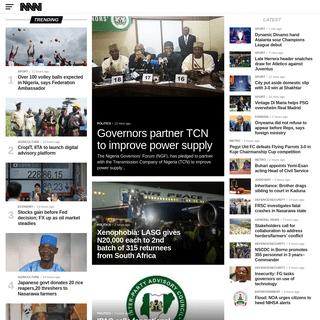 Nigeria News, Nigerian Newspapers, Naija News Today - NNN
