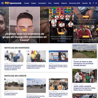LA PRENSA WEB - Noticias de Montería, Córdoba y el mundo