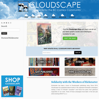 Cloudscape Comics - Your source for the BC comics community