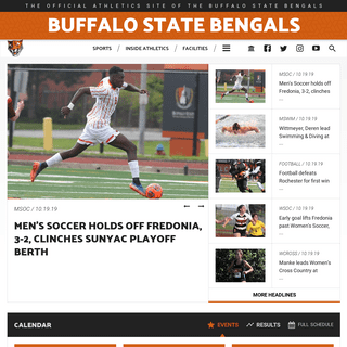 Buffalo State College Athletics - Official Athletics Website