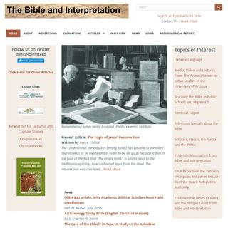Bible Interpretation - Bible Interp