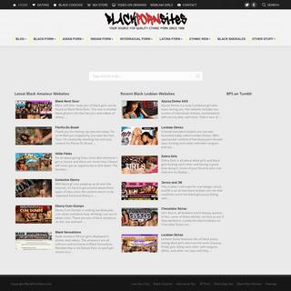 Black Porn Sites is a Directory of Ethnic Porn Websites & Videos - Black Porn Sites