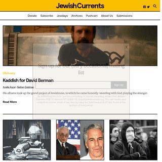 Home – Jewish Currents