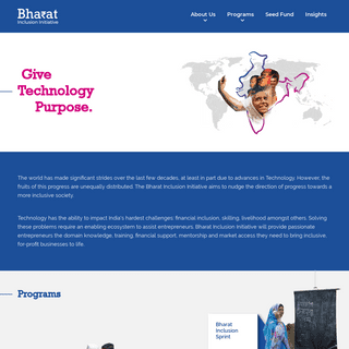 Bharat Inclusion Initiative - Home
